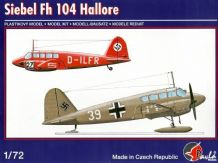 Pavla 72062 Model Kit 1/72 Siebel Fh-104 Hallore